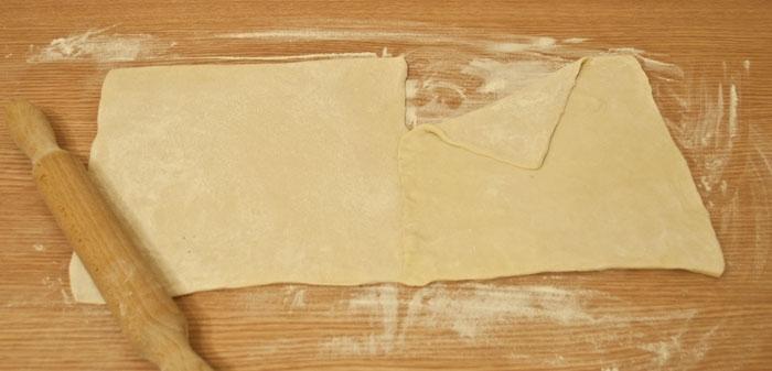 Готовим тесто для штруделя