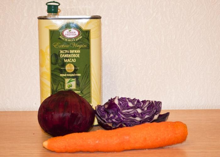 морковь, свекла, капуста