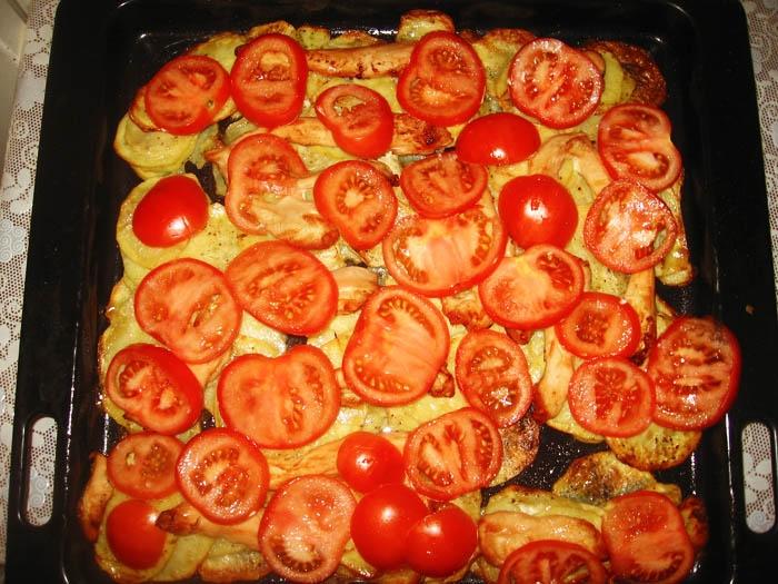 Рецепты картошка помидоры сыр